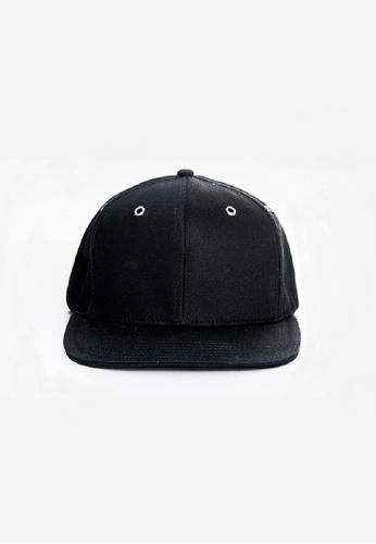 Flawless Flashbacks. 黑色 FF黑色傳統中性潮流棒球帽子 EBC95AC81B0E82GS_1