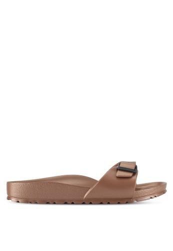 Birkenstock brown Madrid EVA Sandals F7C54SHE1F6148GS_1