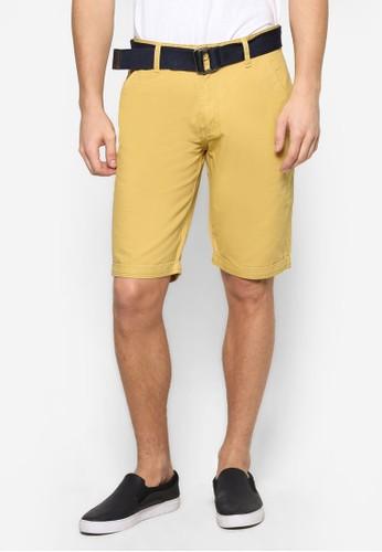 腰帶百慕達zalora 台灣門市短褲, 服飾, 短褲