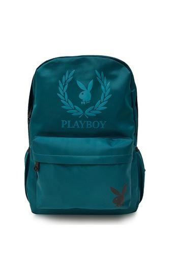Playboy green BACKPACK CE47FACD5B18CDGS_1