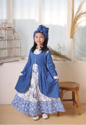 Princessa Flami blue Muslim Anak Blue AG753 5E0DAKA9BF5627GS_1