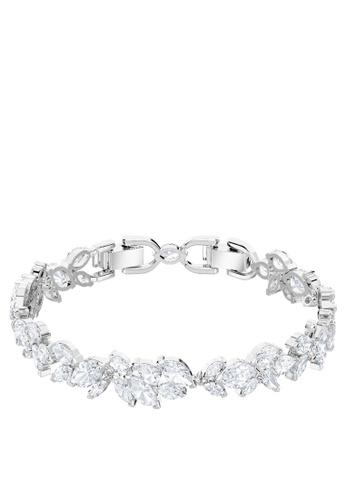 Swarovski silver Louison Bracelet 22092ACF406B8DGS_1