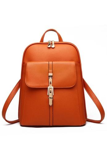 TCWK brown Ladies Backpack TC258AC23PSQMY_1