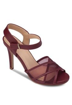 Mesh Heel Sandals