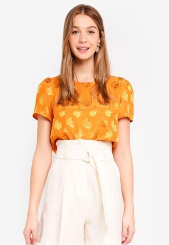 Vero Moda orange Keiko Top CB280AA1A185F9GS_1