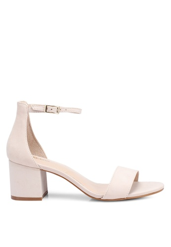 ALDO 褐色 繞踝高跟鞋 C606ASH6039512GS_1