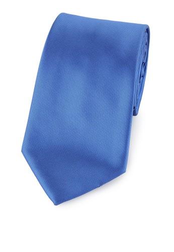 PROFUMO blue PR-PROFUMO POLYESTER MICROFIBER SOLID TIE - 7,5CM – BLUE PR144AC0VAY4ID_1