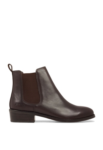 ROC Boots Australia brown Vespa Brown Boots RO517SH2UKKCHK_1