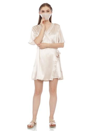 EPC Eddy P Chandra beige Alluring Sleepwear Emily Cream Latte (Free Masker) (Free Box Cantik) E796DAAA79B780GS_1