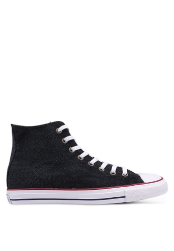 b926cc4427bfcd Converse black Chuck Taylor All Star Worn In Hi Sneakers B2117SH033A531GS 1