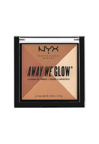 NYX Professional Makeup multi NYX Professional Makeup Away We Glow™ Illuminating Powder-SHIMMER THRILL 9E506BEDECEECDGS_1
