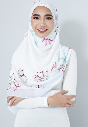 IRA by Twenty3 purple [LIMITED EDITION] Sheera Scarf in Lilac 1BEE8AA4F43486GS_1