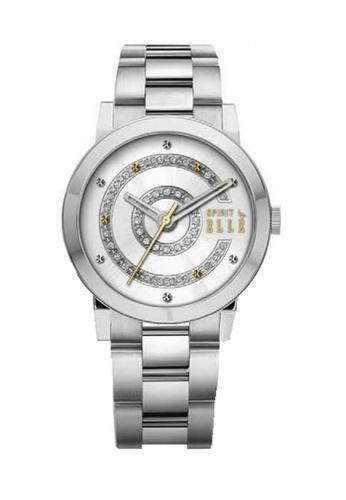 ELLE silver Fashion Ladies Watch SP241AC77UBQMY_1