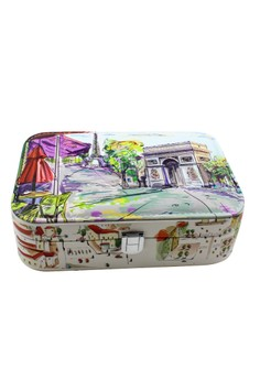 Fashionable Printed Jewelry box JBPS-LP-10