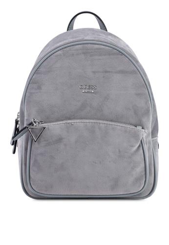 daed1bd3f6b0 Guess grey Rock Beat Backpack 61554AC44EDD1BGS 1