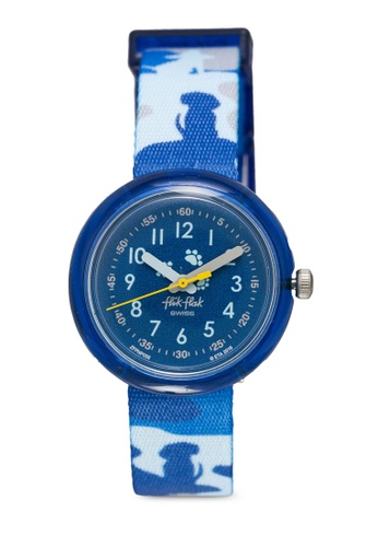 Flik Flak blue WOOFLAGE Watch 28DC7KCDB466CFGS_1