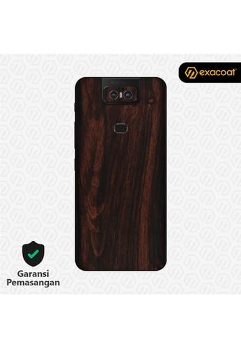 Exacoat Asus Zenfone 6 3M Skins Wood Series - Wood Mahogany E80D9ES1604EFDGS_1
