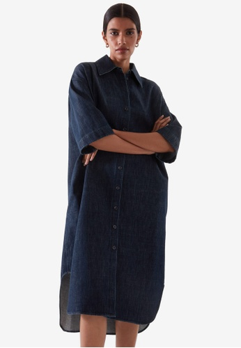 Cos blue Denim Shirt Dress 57172AAEDC2B2FGS_1