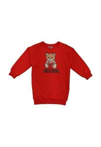 MOSCHINO BABY KID TEEN red MOSCHINO GIRLS DRESS DDDEAKA5C63A95GS_1