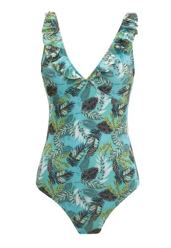 DeFacto green Woman Swimwear Swimsuit 7EF3AUS2B6BA76GS_1