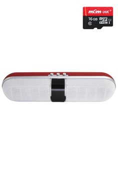 Slim Bluetooth Speaker With FREE 16gb micro-SD card Class 10
