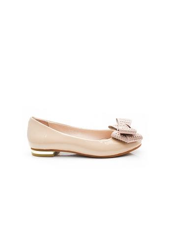 Elisa Litz pink Abele Flats (Pink) 72439SH0AA1873GS_1
