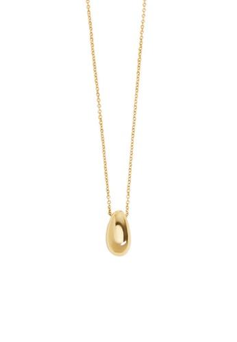 Mango gold Pendant Necklace BF881AC2695A59GS_1