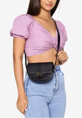 Milliot & Co. 黑色 Grace Sling Bag 9D25DAC11574DBGS_1