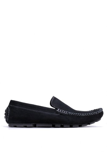 Tony Perotti black Tony Perotti Loafers Baxter - Black 1B633SH6AA1A6AGS_1
