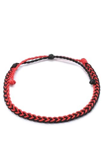 Tutu and Co black Bonfire Braided Bracelet EC173AC5C222F0GS_1