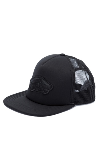 Vans black Classic Patch Trucker VA142AC0JL7HPH_1