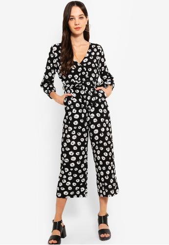 86c7627888f7 Buy Something Borrowed Long Sleeves Wrap Jumpsuit Online on ZALORA ...