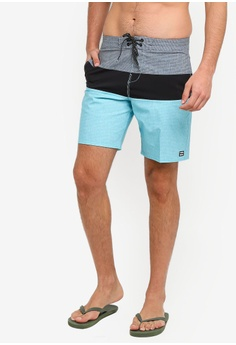 291412417f Billabong green Tribong Lt Boardshorts 5D391AA36259A9GS_1