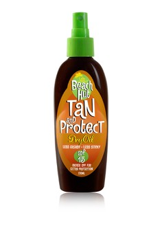 Tan and Protect Dry Oil SPF 15
