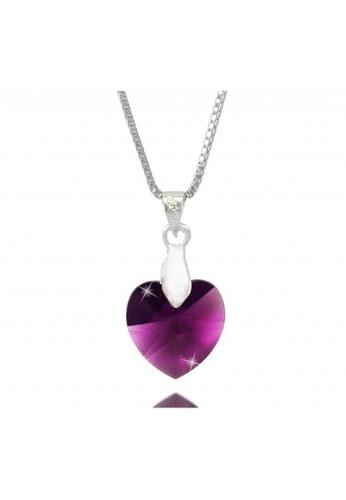 CELOVIS purple M Series made with Swarovski® Crystal Pendant (Purple) CE446AC26MARMY_1