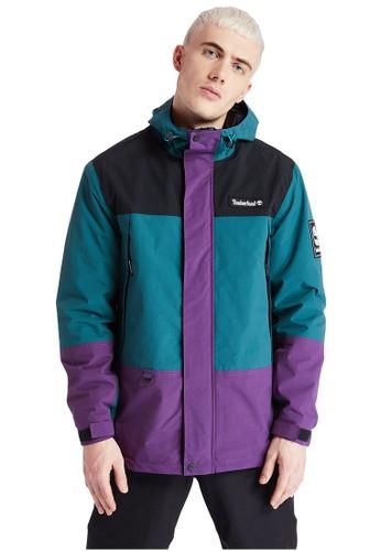 Timberland multi Timberland Men OA Rainwear Mountain Jacket Black Deep Plum-TB0A2ADZAQ3 00EB2AAEA8DAF4GS_1