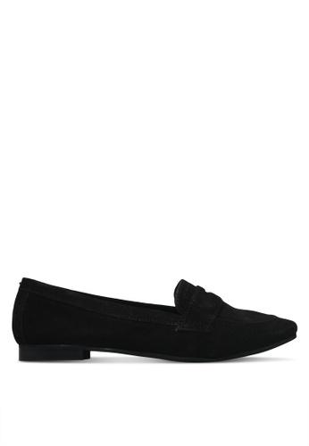 Dune London black Unlined Loafers C185FSHE2B9E92GS_1