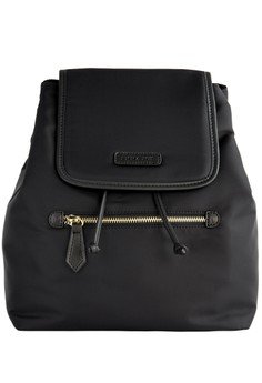 PRM Nylon Leather Backpack