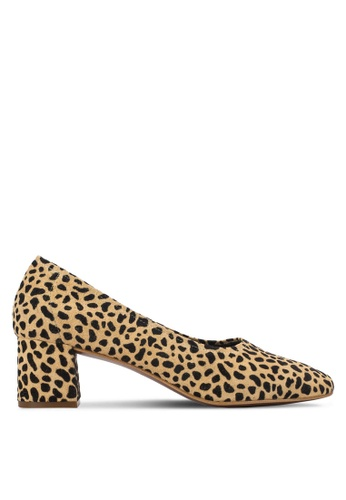 TOPSHOP multi and brown Juno Soft Ballet Shoes TO412SH47OAEMY_1