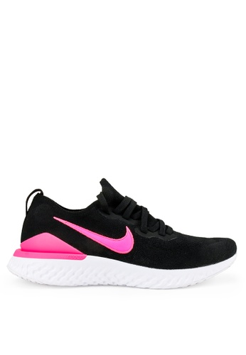 Nike black Nike Epic React Flyknit 2 Shoes B9323SH2CDA94DGS_1