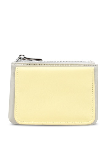 nose yellow Casual Mini Wallet E065AAC4E73619GS_1