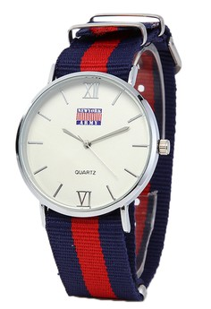 Newyork Army Unisex Multicolor Nylon Strap Watch NYA121