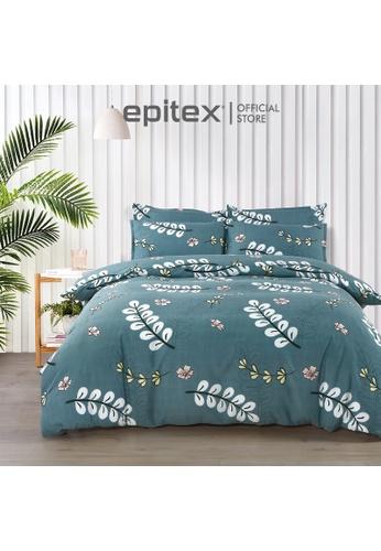 Epitex multi Epitex Silkysoft 900TC SP9052-2 Fitted Sheet Set (w/o quilt cover) - Bedsheet - Bedding Set F8EE4HL9481E82GS_1