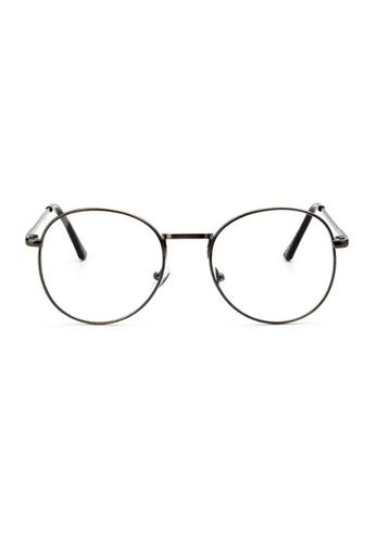Elitrend Retro Metal Glasses with Bronze Frame 07F95GL1DA0878GS_1