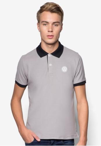 品牌撞色領POLO 衫, 服esprit 品牌飾, 服飾