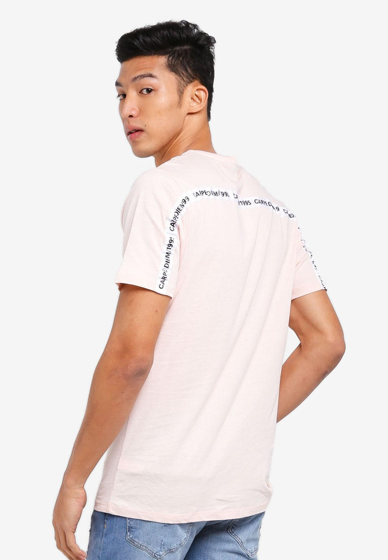 Island River Fit Pink Tee Slim Taped qaIyB