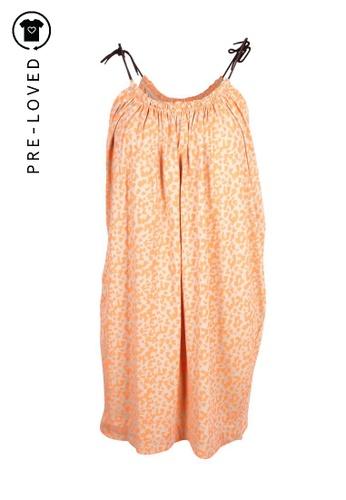 Rachel Roy beige Pre-Loved rachel roy Orange Leopard Print Dress 246F2AAF9A2F44GS_1