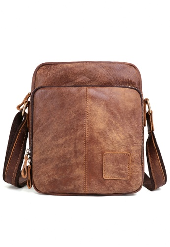 Twenty Eight Shoes brown Frosted Leather Hand Shoulder Bag 6423 CAB09ACF2C321AGS_1