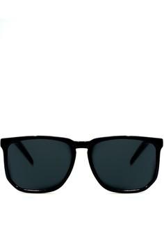 The Deadma In Black Sleek Sunglasses