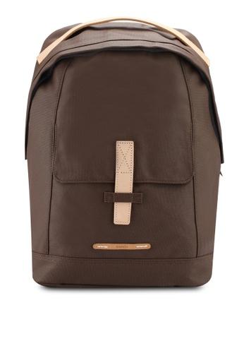 "Rawrow brown Rugged Canvas 431 13"" Backpack RA312AC0SIY3MY_1"